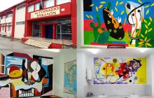 6ο Γυμνάσιο Τρικάλων: Το σχολείο με τους πίνακες ζωγραφικής