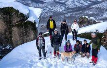 Ο ΣΠΟΡΤ στα χιονισμένα Μετέωρα