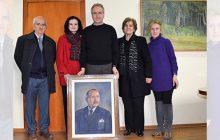 Δωρεά πορτρέτου του Δημητρίου Μπούσδρα στο Δήμο Καρδίτσας