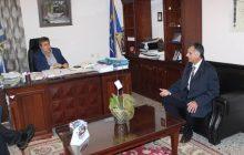 Συνάντηση Μαράβα για το υποκατάστημα ΕΤΕ Πύλης
