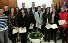 Ο Δήμος Τρικκαίων βράβευσε φοιτητές και αθλητές που αρίστευσαν και πρώτευσαν