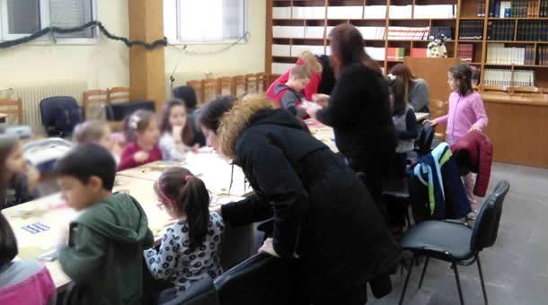 Υποδοχή Χριστουγέννων στη Δημόσια Βιβλιοθήκη Μουζακίου