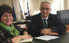 Ευχάριστα νέα από τη συνάντηση εργασίας της Χρ. Κατσαβριά με τον πρόεδρο του ΟΣΕ