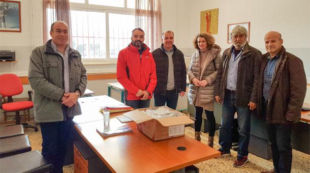 Ευχαριστήριο του συλλόγου γονέων και Κηδεμόνων Λυκείου Μουζακίου προς τον υποψήφιο Δήμαρχο Μουζακίου κύριο Αθανάσιο Καρύδα.