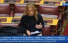 Π. Βράντζα: ''Αλλαγή καθεστώτος ορισμού ανταποκριτών του ΕΛΓΑ για την εύρυθμη λειτουργία του οργανισμού''