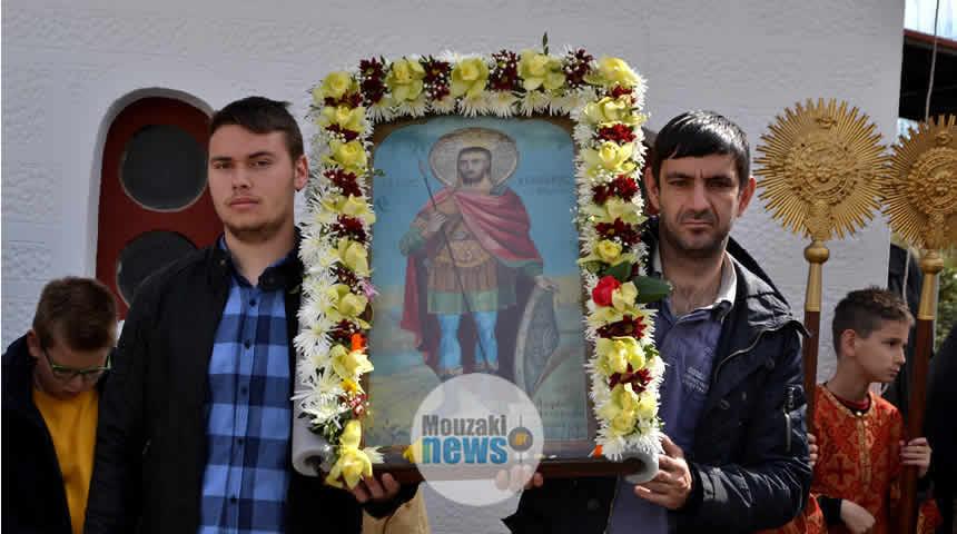 Με τιμή και ευλάβεια ο εορτασμός των Αγίων Θεοδώρων στο Μουζάκι