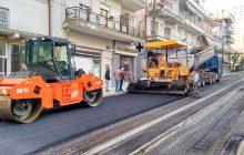 Συντήρηση ασφαλτοστρωμένου δικτύου σε περιοχές της ΠΕ Τρικάλων
