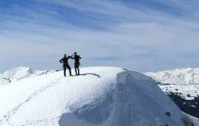 Πέτρος Τόλιας και Νίκος Κρούπης σε χειμερινή διαδρομή στην Νεράϊδα