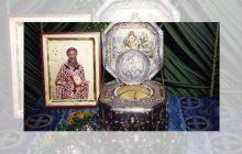 Υποδοχή Τιμίας Κάρας Αγίου Βησσαρίωνα στον Ι.Ν Αγ. Τριάδος Αγ. Βησσαρίωνα