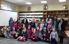 Μασκαρέματα στη Δημόσια Βιβλιοθήκη Μουζακίου
