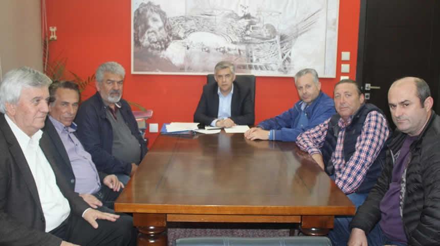 Συνάντηση Περιφερειάρχη Θεσσαλίας με εκπροσώπους των ΤΟΕΒ Σελλάνων, Σοφάδων και Τιτανίου