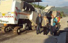 Ασφαλτόστρωση εκ νέου στον κεντρικό δρόμο Μαυρομματίου