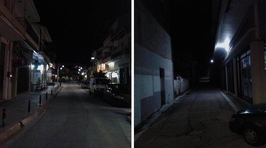Μόλις βραδιάζει τα βλέπουμε… δύσκολα στις γειτονιές του Μουζακίου