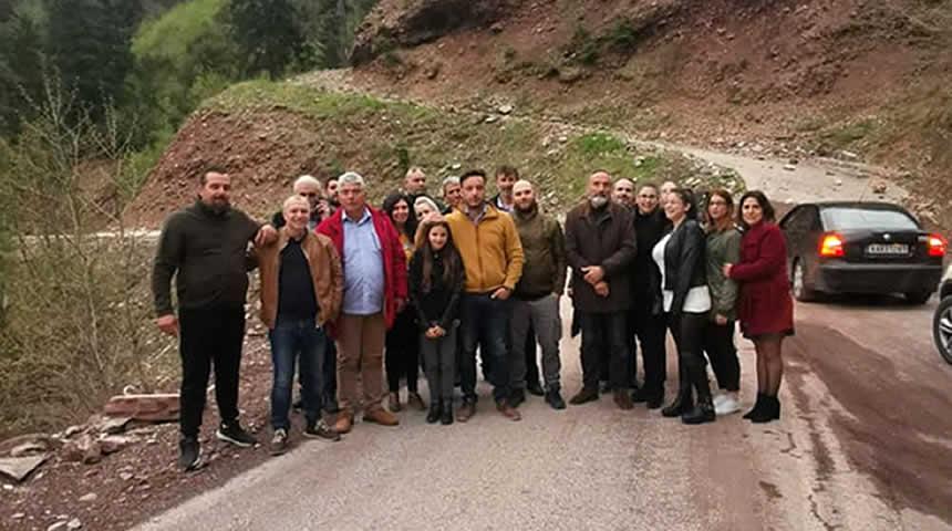 Επίσκεψη της ΝΕΑΣ ΕΛΠΙΔΑΣ στην Ιερά Μονή Σπηλιάς και ευχές για καλό Πάσχα