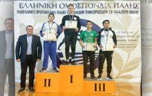 «Ασημένιος» στο Πανελλήνιο Πρωτάθλημα Παμπαίδων ο Δημήτρης Παπακώστας