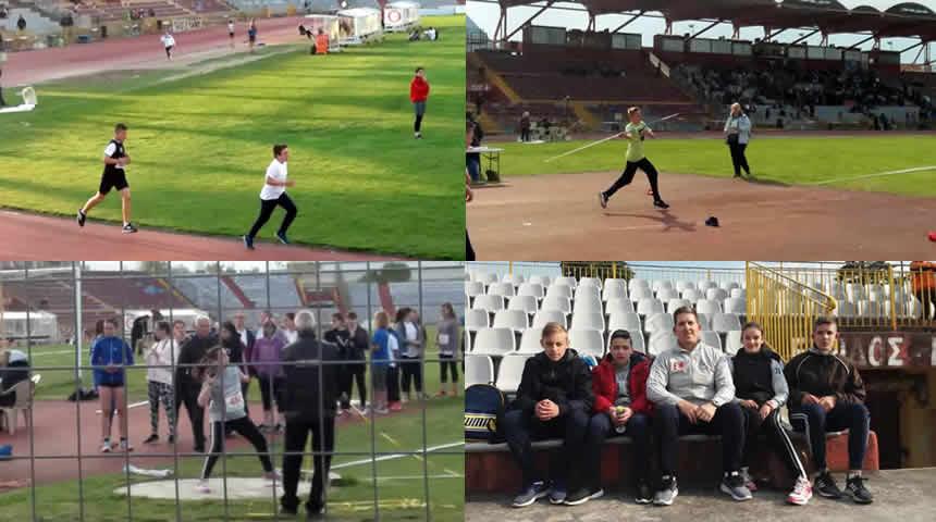 Συμμετοχή του Γ.Σ. Μουζακίου σε Διασυλλογικούς Αγώνες Στίβου στη Λάρισα