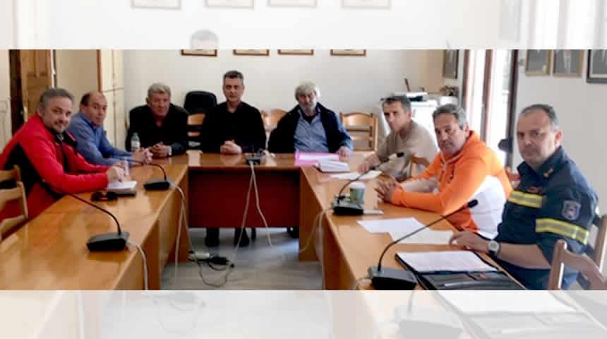 Σύσκεψη για την πυροπροστασία πραγματοποιήθηκε στο Δήμο Μουζακίου