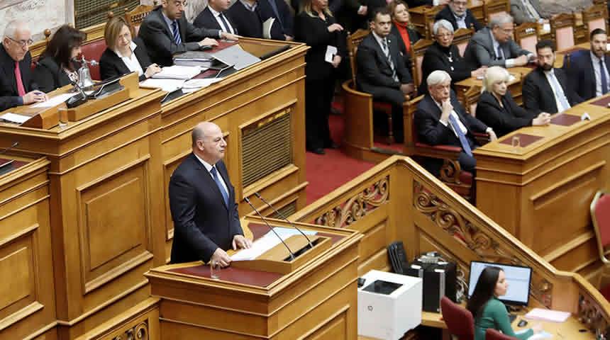 Ο Κώστας Τσιάρας στο πολιτικό μνημόσυνο του Δημήτρη Σιούφα