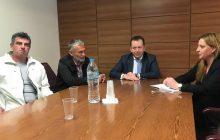 Συνάντηση Π. Βράντζα και Καπνικού Συνεταιρισμού Καρδίτσας με τον Υφ. Αγροτικής Ανάπτυξης Β. Κόκκαλη