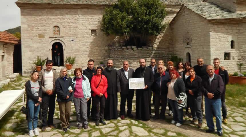 ΕΟΣΚ: Πρόταση ανάπτυξης του περιπατητικού και προσκυνηματικού τουρισμού