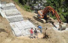 Αντιπλημμυρικά έργα στη Μαγουλίτσα εντός της ευρείας κοίτης του Πάμισου