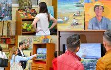 Εγκαινιάστηκε η έκθεση της ζωγράφου Χάϊδως Καφφέ στη Δημόσια Βιβλιοθήκη Μουζακίου