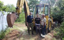 Εργασίες διαμόρφωσης των δύο Κλωβών του Κ.Σ. Πύλης στην Λυγαριά