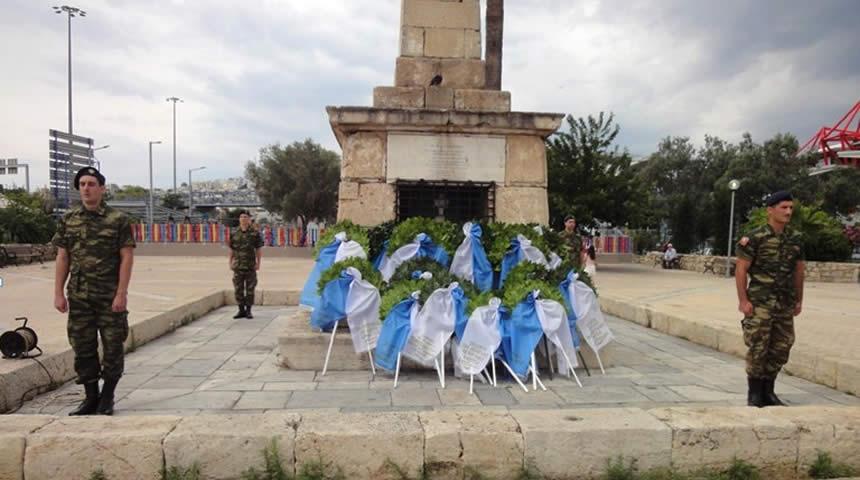 Εκδήλωση τιμής στο Νέο Φάληρο για τον Αρχιστράτηγο Γ. Καραϊσκάκη