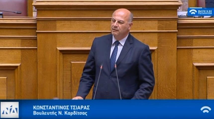 Κώστας Τσιάρας: Δεν είμαστε στον ίδιο δρόμο με τον ΣΥΡΙΖΑ
