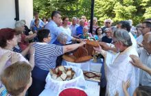 Στη θρησκευτική γιορτή του Αγίου Ιωάννη (Ριγανά) ο Γ. Κωτσός