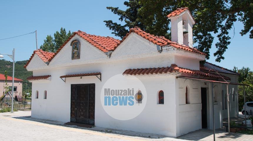 Ιερά παράκληση στον Ιερό Ναό Αγίου Θεοδώρου στο Μουζάκι