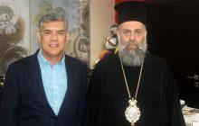 Συνάντηση Μητροπολίτη Θεσσαλιώτιδος και Φαναριοφερσάλων με τον Περιφερειάρχη Θεσσαλίας