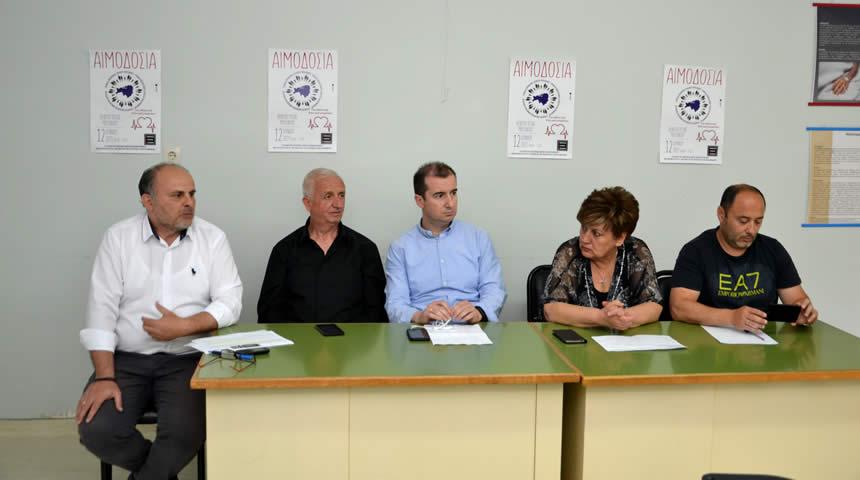 Εθελοντική αιμοδοσία στο Κέντρο Υγείας Μουζακίου στις 12 Ιουνίου