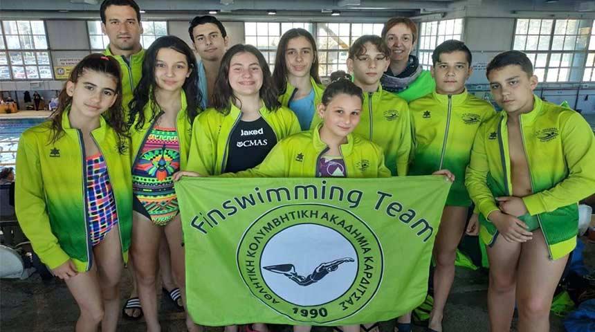 Ατομικά ρεκόρ και όρια Πανελληνίου Πρωταθλήματος Τεχνικής Κολύμβησης για την ΑΚΑΚ και τον ΑΣΚ Ολυμπιακό