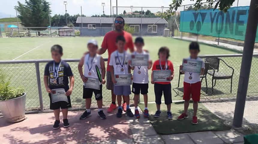 """Ο Α.Ο. Αντισφαίρισης """"Φαέθων"""" στους παιδικούς αγώνες του Larissa Sports Center"""