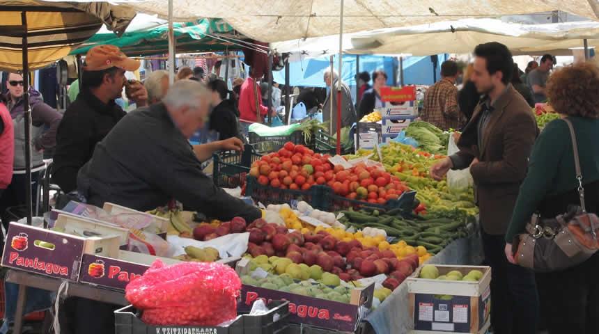 Τρίκαλα: Κανονικά η λαϊκή αγορά το Σάββατο, δεν λειτουργεί τη Δευτέρα