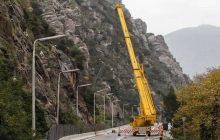 Εργασίες συντήρησης μέτρων βραχοπροστασίας στα Τέμπη - Προσωρινές κυκλοφοριακές ρυθμίσεις