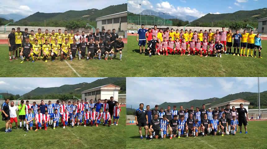Συνεχίζεται με επιτυχία το Θουκυδίδειο καλοκαιρινό τουρνουά ποδοσφαίρου στο Μουζάκι