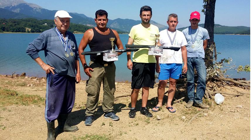 Με μεγάλη επιτυχία ο 14ος διαγωνισμός ψαρέματος στη Λίμνη Πλαστήρα