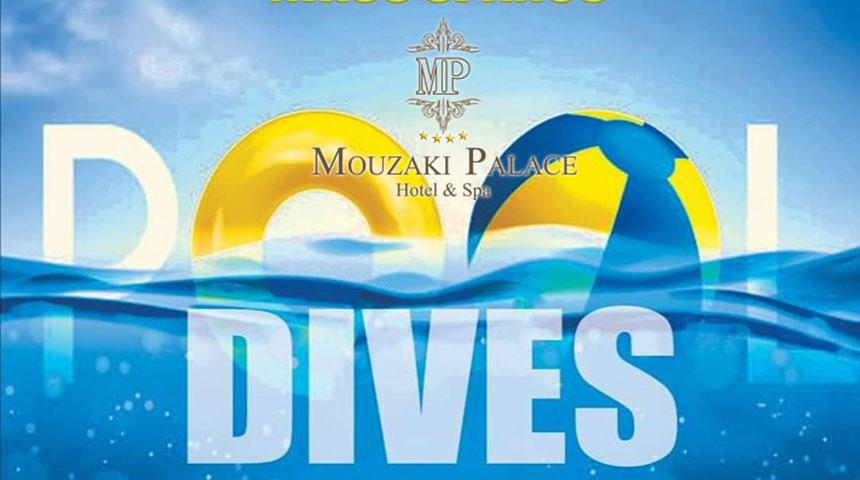 Αξέχαστα καλοκαιρινά μεσημέρια στην πισίνα του ξενοδοχείου Mouzaki Palace