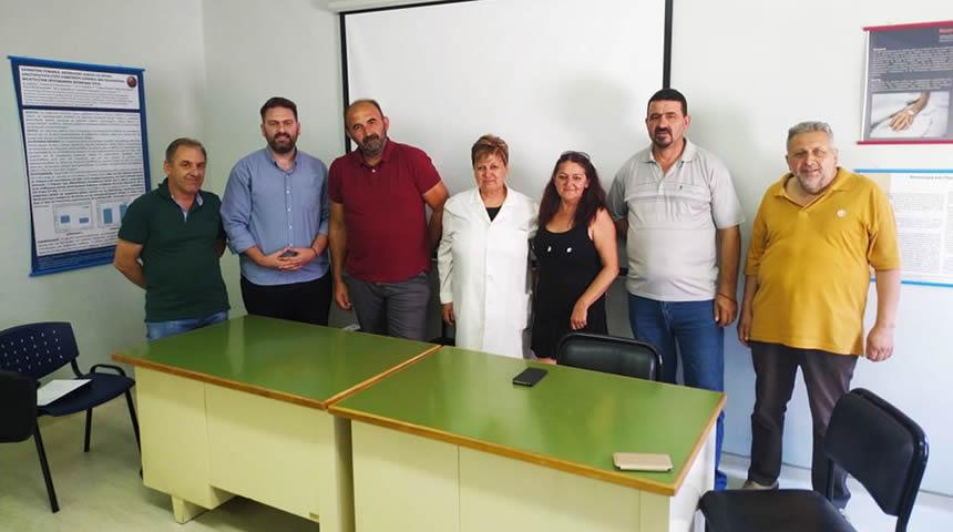 Επίσκεψη του Δημάρχου & Δημ Συμβούλων του Δήμου Αργιθέας στο Κ.Υ. Μουζακίου
