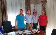 Συνάντηση του Κ.Σ. Μουζακίου με το Δήμαρχο κ. Θ. Στάθη