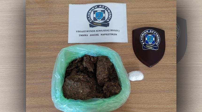 Συνελήφθη 39χρονος στην Αλόννησο με ένα κιλό κάνναβης περίπου και (50) γραμμάρια κοκαΐνης