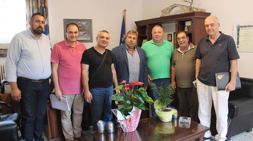 Ευρεία σύσκεψη στο Δημαρχείο Πύλης για την περιοχή του Περτουλίου