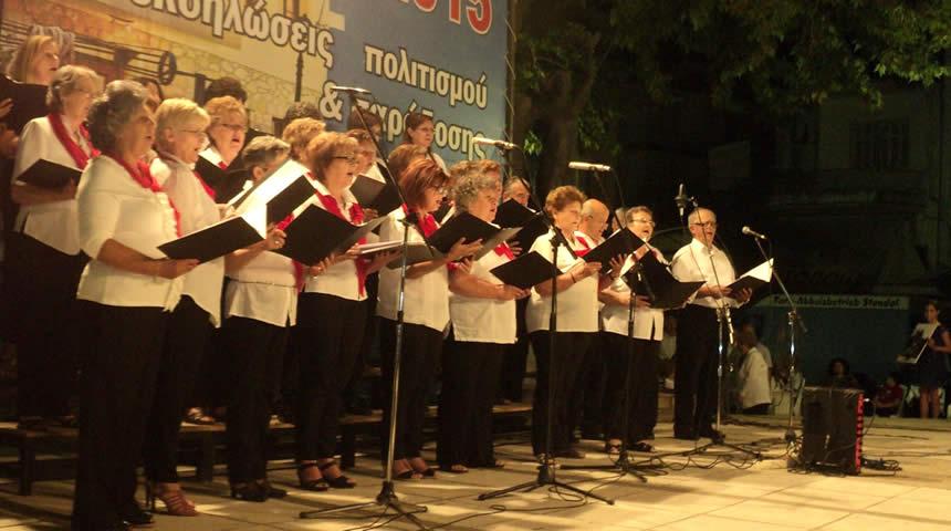 Η Μικτή Χορωδία του Δήμου Σοφάδων στο Ετήσιο Χορωδιακό Φεστιβάλ