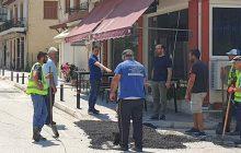 Στην τελική ευθεία η αποπεράτωση του έργου των ιδιωτικών συνδέσεων στο κέντρο του Μουζακίου
