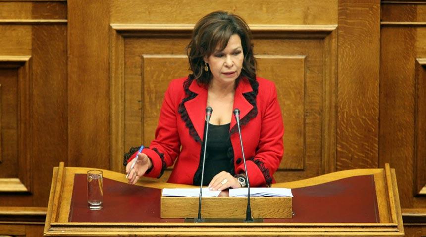 Τοποθέτηση της Ασημίνας Σκόνδρα στην Ολομέλεια επί του πολυνομοσχεδίου