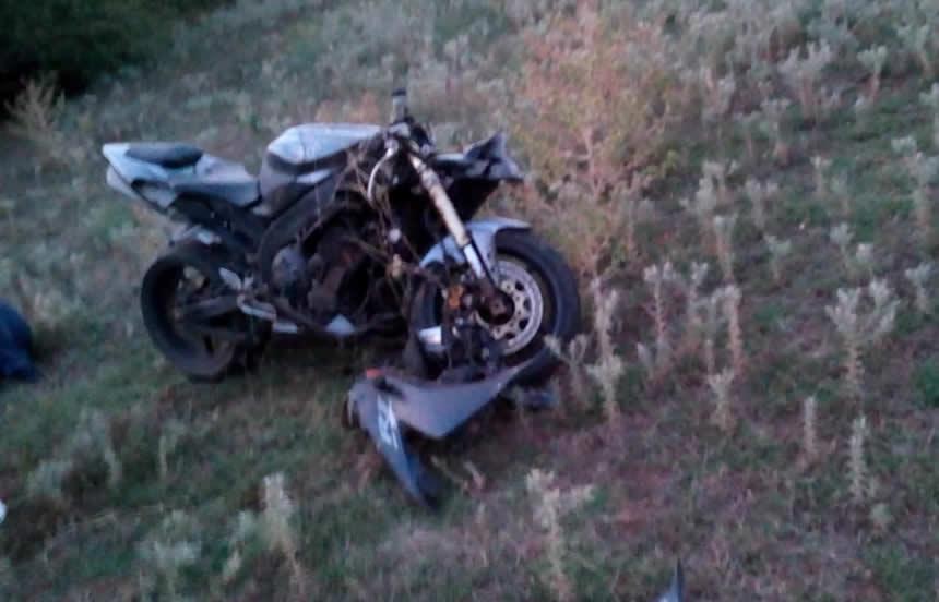 Τροχαίο ατύχημα με μηχανή λίγο έξω από το Μαυρομμάτι Καρδίτσας