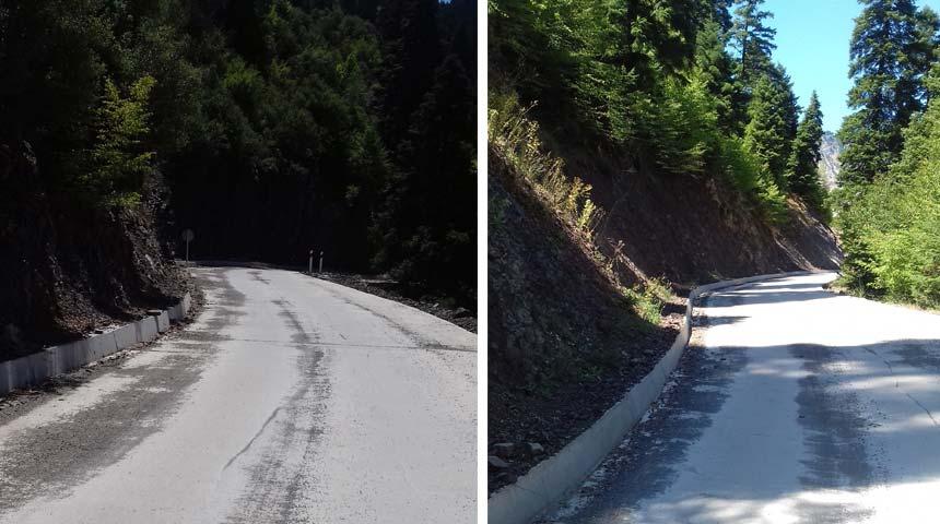 Ασφαλής σύγχρονος δρόμος έως την Ιερά Μονή Παναγίας Σπηλιώτισσας Αργιθέας!
