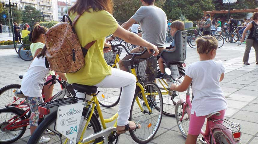 ΤΡΙΚΑΛΑ: Ευρωπαϊκή εβδομάδα κινητικότητας 2019